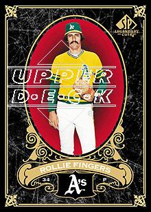 2007 SP Legendary Cuts #63 Rollie Fingers