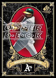 2007 SP Legendary Cuts #65 Reggie Jackson