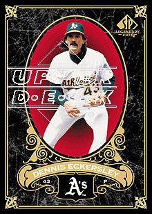 2007 SP Legendary Cuts #66 Dennis Eckersley