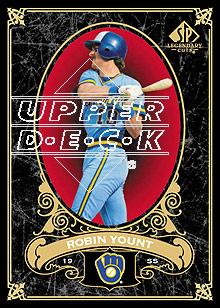 2007 SP Legendary Cuts #67 Robin Yount