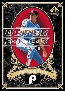 2007 SP Legendary Cuts #72 Steve Carlton