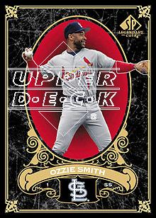 2007 SP Legendary Cuts #76 Ozzie Smith
