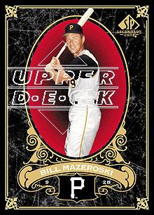 2007 SP Legendary Cuts #77 Bill Mazeroski