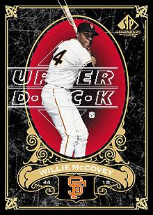 2007 SP Legendary Cuts #81 Willie McCovey