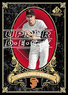 2007 SP Legendary Cuts #82 Gaylord Perry