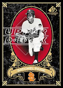 2007 SP Legendary Cuts #85 Satchel Paige