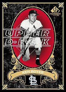 2007 SP Legendary Cuts #87 Ken Boyer