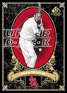 2007 SP Legendary Cuts #90 Stan Musial
