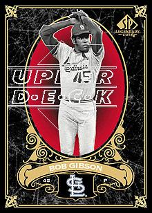 2007 SP Legendary Cuts #92 Bob Gibson
