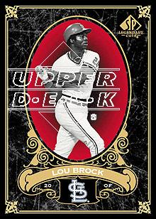 2007 SP Legendary Cuts #94 Lou Brock