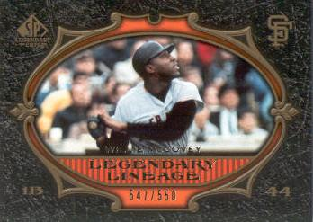 2007 SP Legendary Cuts #184 Willie McCovey LL