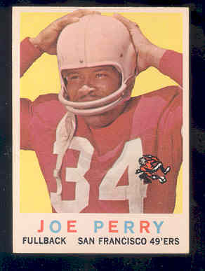 1959 Topps #80 Joe Perry