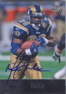 2008 Ultimate Collection 1997 Legends Autographs #191 Marshall Faulk