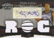 2006-07 Topps Triple Threads #108 Craig Smith JSY AU RC