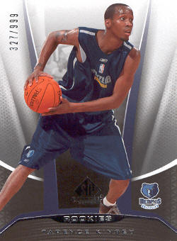 2006-07 SP Game Used #247 Tarence Kinsey RC