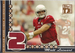 2007 Topps TX Exclusive Ticket 2 Stardom Jersey #ML Matt Leinart