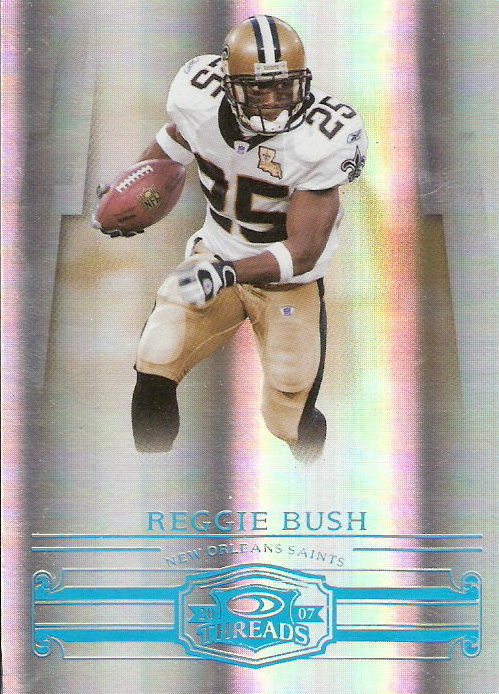 2007 Donruss Threads Platinum Holofoil #106 Reggie Bush