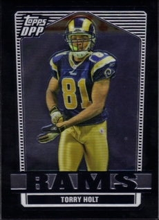 2007 Topps Draft Picks and Prospects Chrome Black #26 Torry Holt