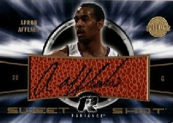 2008-09 Upper Deck Radiance Sweet Shot Autographs #SSAA Arron Afflalo