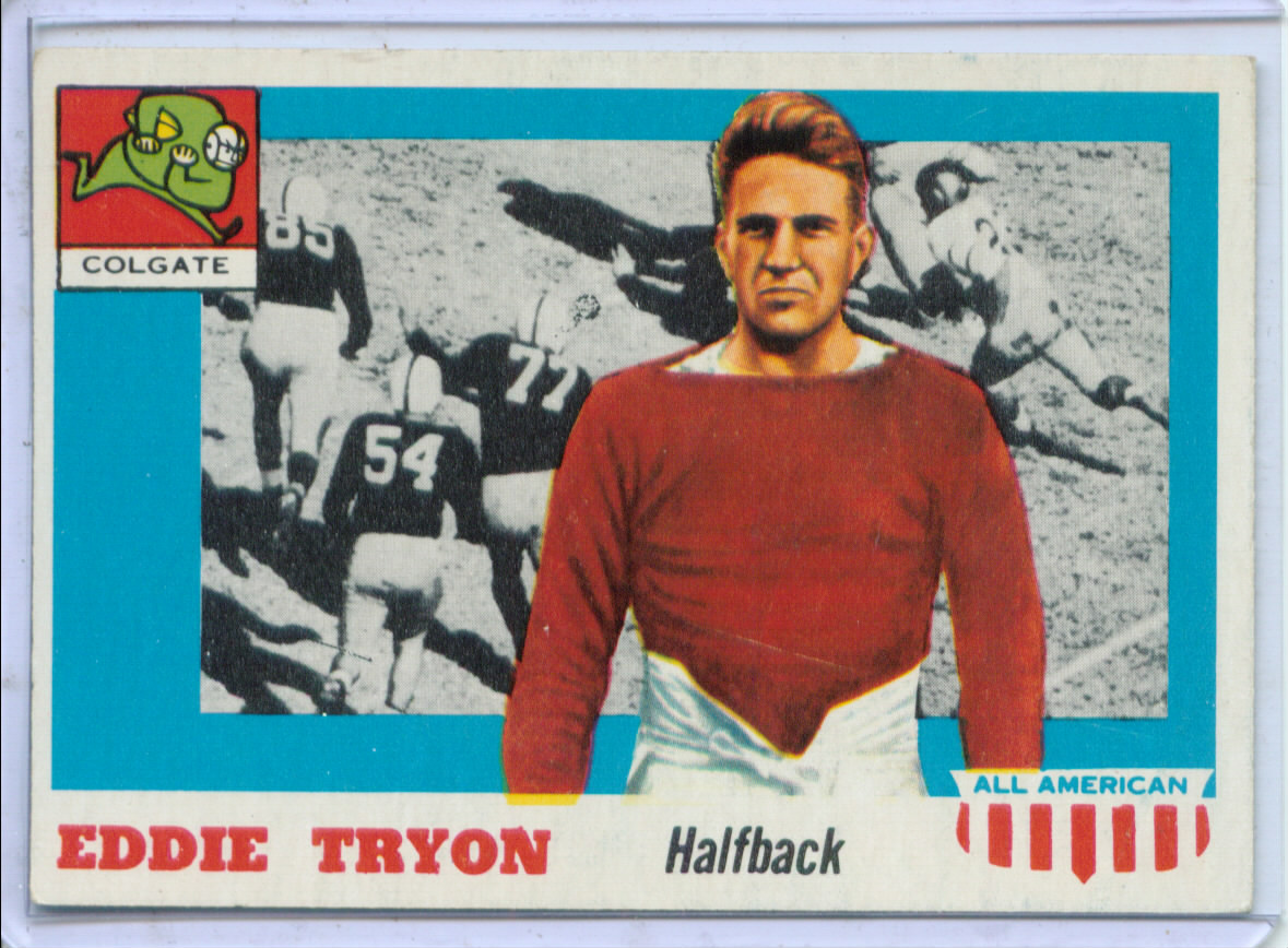 1955 Topps All American #42 Eddie Tryon SP RC