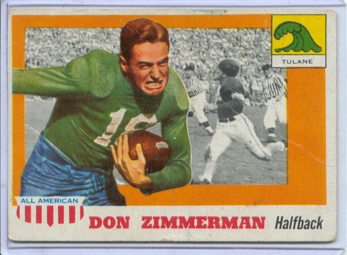 1955 Topps All American #49 Don Gordon Zimmerman RC