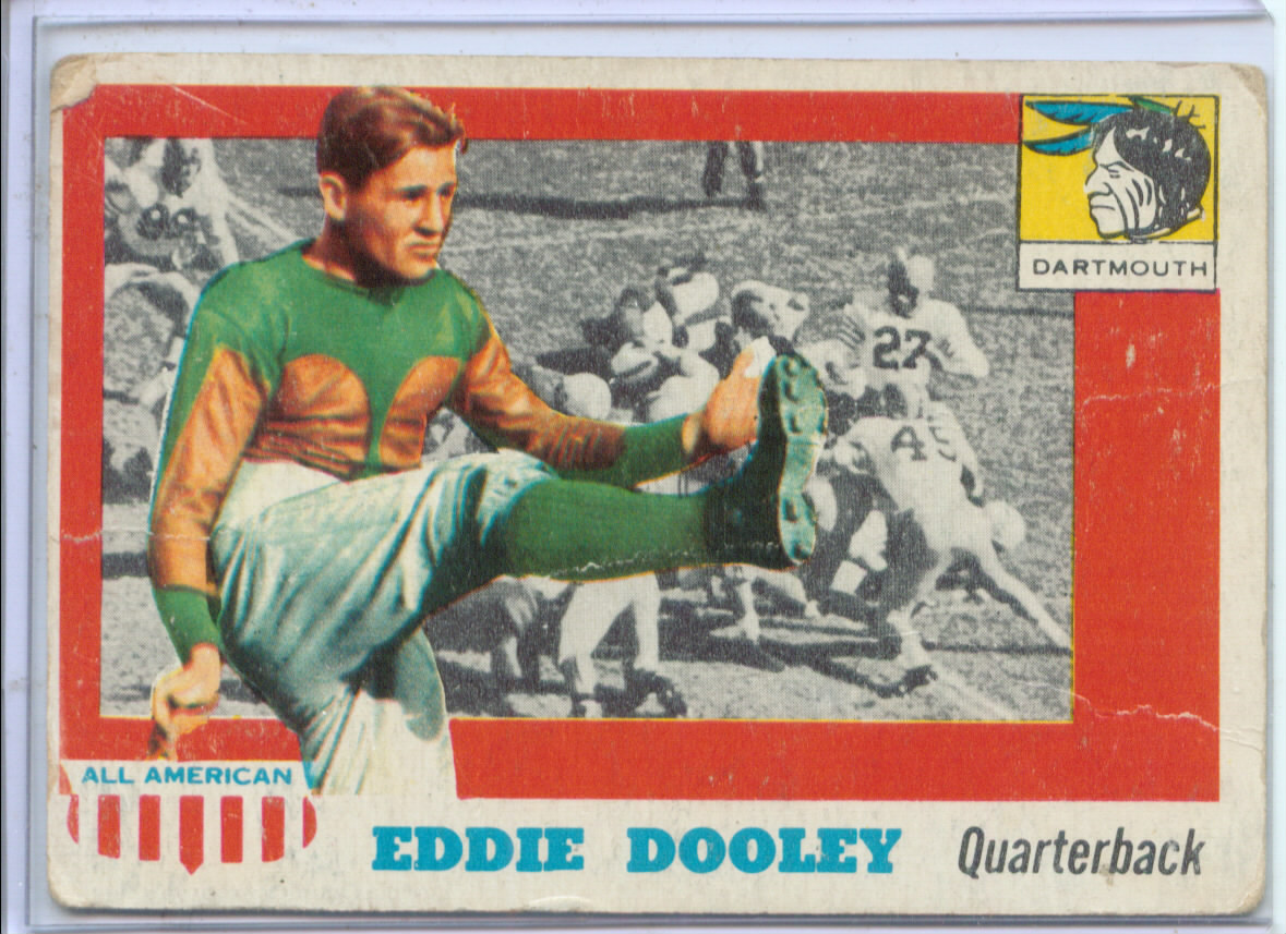 1955 Topps All American #54 Edwin Dooley SP RC