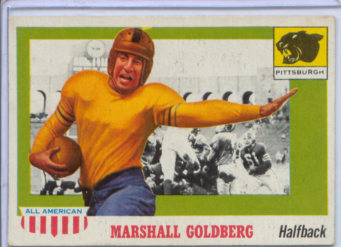 1955 Topps All American #89 Marshall Goldberg