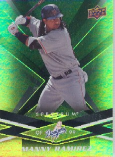 2009 Upper Deck Spectrum Black #50 Manny Ramirez