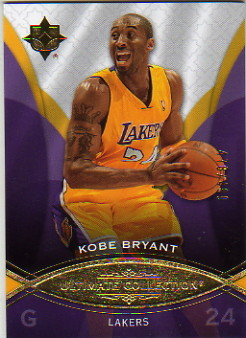 2008-09 Ultimate Collection #10 Kobe Bryant