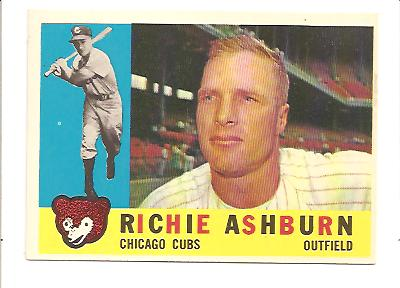 1960 Topps #305 Richie Ashburn