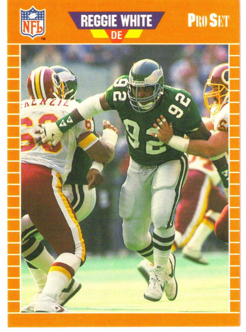 1988 Pro Set Test #4 Reggie White