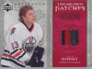 2006-07 Artifacts Treasured Patches Red #TSAH Ales Hemsky