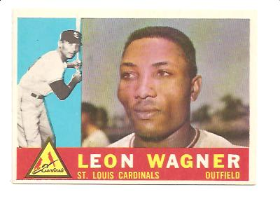 1960 Topps #383 Leon Wagner