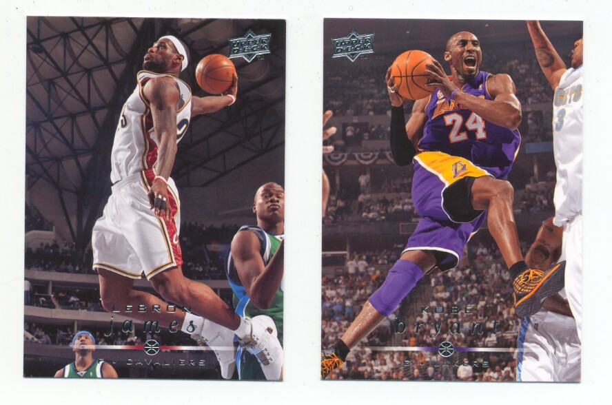 2008-09 Upper Deck Basketball Base Set 1-200