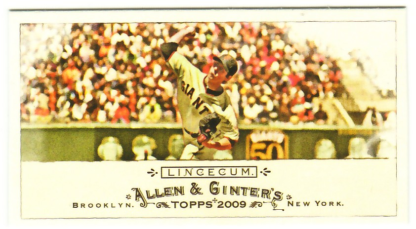 2009 Topps Allen and Ginter Mini #224 Tim Lincecum