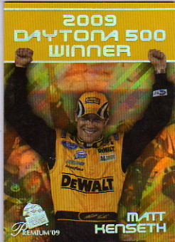 2009 Press Pass Premium #0 Matt Kenseth Daytona 500