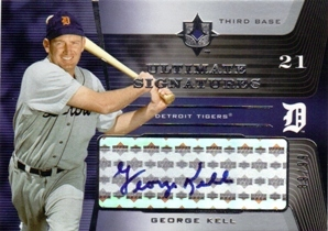 2004 Ultimate Collection Signatures #GK George Kell/99
