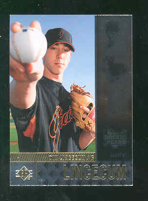 2007 SP Rookie Edition #124 Tim Lincecum RC