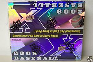 2009 Upper Deck X Baseball Unopened Box (24 Packs)