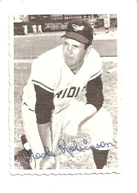 1969 Topps Deckle Edge #1 Brooks Robinson