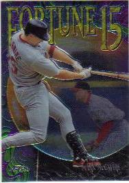 1999 Topps Chrome Fortune 15 #FF12 Mark McGwire