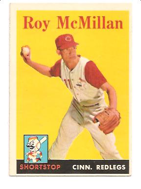 1958 Topps #360 Roy McMillan