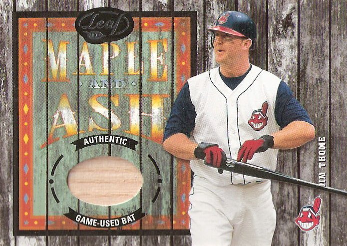 2003 Leaf Maple and Ash #8 Jim Thome