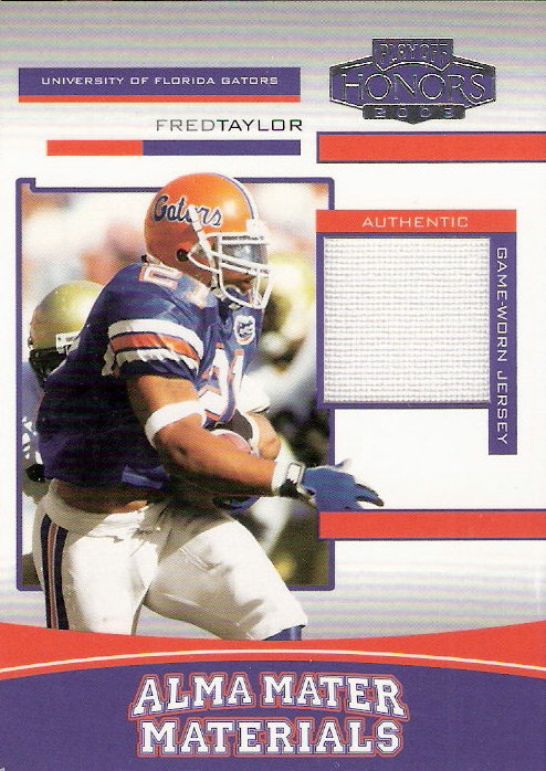 2003 Playoff Honors Alma Mater Materials #AM1 Fred Taylor/400