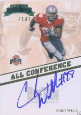 2009 Press Pass Legends All Conference Autographs #ACCW Chris Wells/141