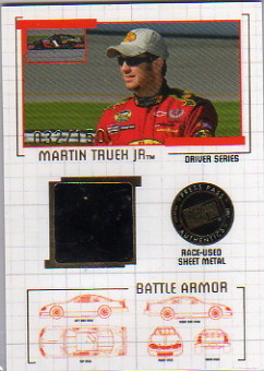 2007 Press Pass Stealth Battle Armor Drivers #BAD17 Martin Truex Jr.