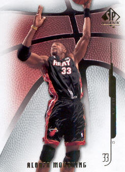 2008-09 SP Authentic #2 Alonzo Mourning