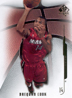 2008-09 SP Authentic #3 Daequan Cook