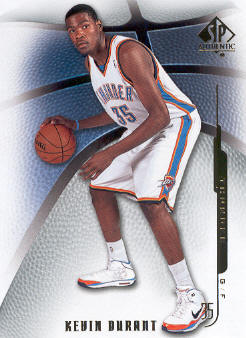 2008-09 SP Authentic #4 Kevin Durant front image
