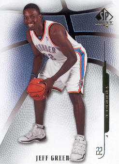 2008-09 SP Authentic #5 Jeff Green